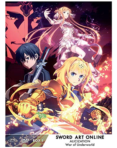 Sword Art Online Alicization War Of Underworld - Ltd. Box -01 (Eps. 01-12) (3 Blu-Ray)