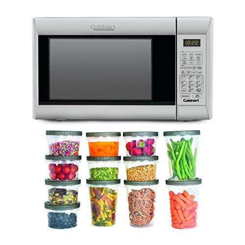 Cuisinart CMW-200 Convection Microwave Oven with Grill with Plastic Storage...