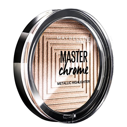 Maybelline Master Chrome - 200 - Highlighter polvo facial 1 - Polvos faciales (Molten Bronze, 68 ml, 74 mm, 74 mm, 12 mm, 46 g)