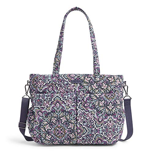Vera Bradley womens Signature Cotton Ultimate Baby Diaper Bag, Bonbon Medallion, One Size US