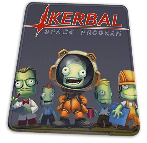 Kerbal Space Program Ksp Team Hemming The Mouse Pad 10 X 12 Inch Esports