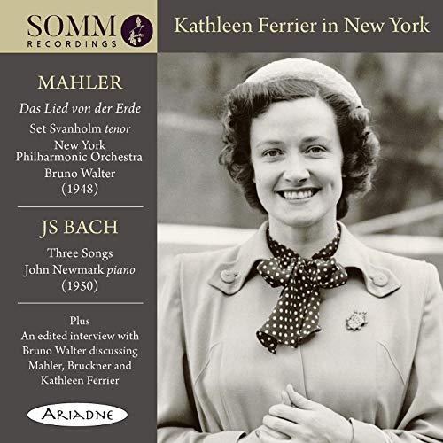 Kathleen Ferrier in New York [Kathleen Ferrier; Set Svanholm; John Newmark;...