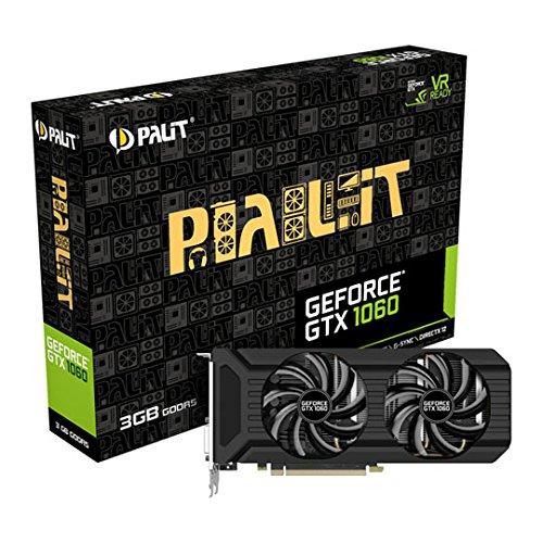 Palit GeForce GTX 1060 NE51060015F9-1061D 1060 Grafikkarte schwarz