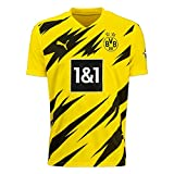 Puma Herren BVB Home Trikot Replica 20/21 T-Shirt, Cyber Yellow Black, L