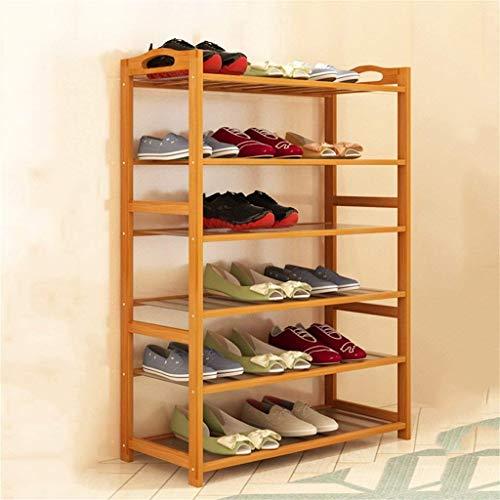 HLL Zapatero de múltiples capas simple hogar económico ahorro de espacio zapatero montaje moderno minimalista a prueba de polvo dormitorio estante de almacenamiento