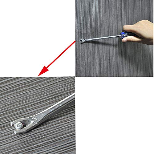 HJ Garden 2pcs Tack Puller Lifter Nail Staple Rivet Remover Screwdriver Removal Tool