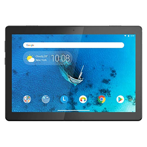 "Lenovo TAB M10 Tablet, Display 10.1"" HD IPS, Processore Qualcomm Snapdragon 429, 16GB espandibili fino a 128GB, RAM 2GB, Fotocamera 2MP, Fotocamera Posteriore 5MP, 2 Speaker Dolby Atmos, WiFi, Android"