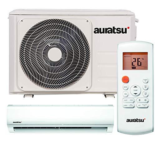 AURATSU AWX-24KTA Split Klimaanlage 7,0 kW 24000 BTU, für bis zu 110 qm, WiFi Ready Invert Klimagerät Split, A++ Kühlen, A+ Heizen, inkl. Flairmax® Montage-Set, Kältemittel R32, Fernbedienung