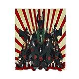 Eyliy Na-ruto - Cortinas de gasa para dormitorio, 140 x 213 cm