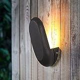 NAMFHZW Aplique De Pared Impermeable Elegante Elegante IP54 Iluminación Exterior LED Aplique De Luz De Pared Patio Balcón Linterna De Pared Antioxidante Porche Pasillo Puerta Lámpara De Montaje En Par