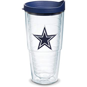 Tervis NFL Kansas City Chiefs All Over 24 oz Tumbler with lid Clear