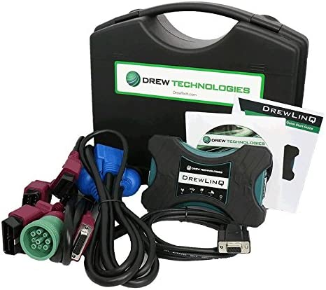 Our shop OFFers the best service Drew Tech 2021 autumn and winter new DrewLinQ Kit Commercial Tool Heavy-Duty Diagnostic