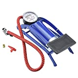 OSFT Portable High Pressure Foot Air Pump Heavy Compressor Cylinder for Bike, Car