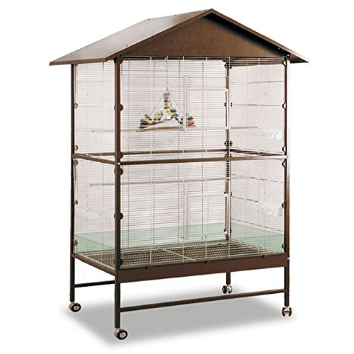 Montana Cages ® | Voliere, Zimmervoliere, Käfig Villa Casa 120 - Choco/Vanilla
