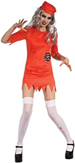 Bristol Novelty Womens/Ladies Zombie Prisoner Costume