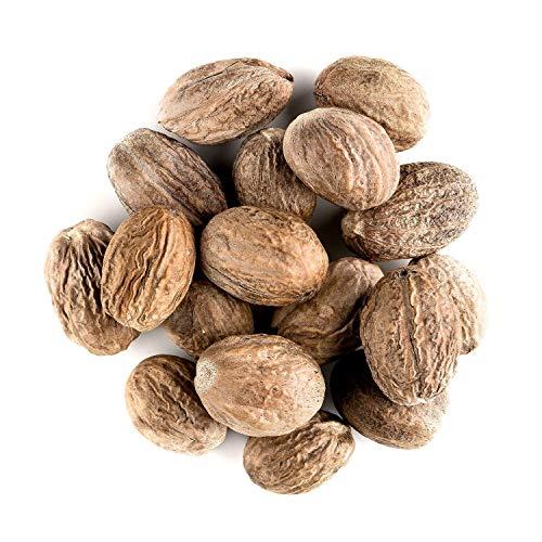 Muskatnüsse Organischer Wohlriechender Würzen - Vollkommenes Muskat Nuss Gewürz - Myristica Fragrans Von Sri Lanka 100g