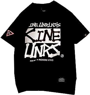 [イダク] レディース Tシャツ 半袖 ゆったり トップス 英字プリント 可愛い 通勤 通学 BF風 シャツ