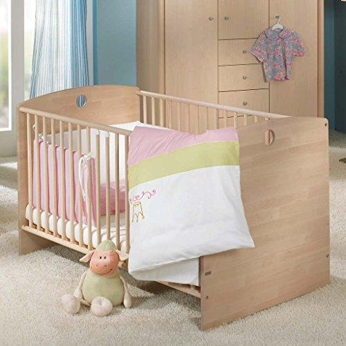 Paidi 1119046 Kinderbett Fleximo mit Comfort Rost, 70 x 140 cm, birke natur