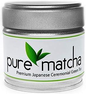 Pure Matcha, Premium Ceremonial Grade Matcha Green Tea Powder | Japanese Origin | First Harvest