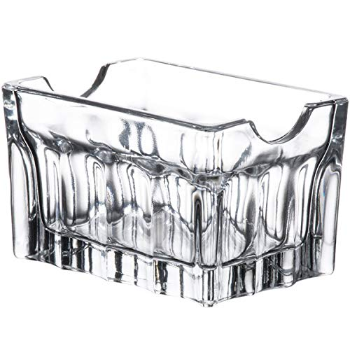 Libbey Clear Glass Sugar Packet Holder