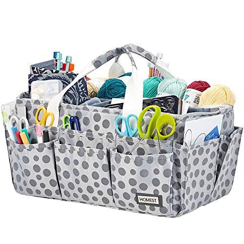 crochet sewing basket - 3