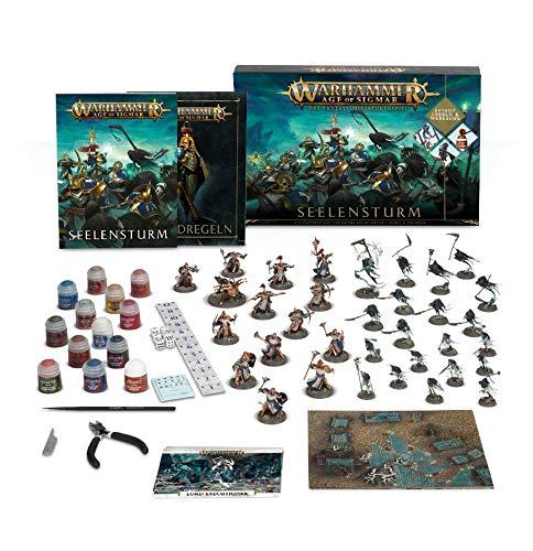 Age of Sigmar Seelensturm & Farben Paint Set Tabletop-Spiel Fantasy Warhammer