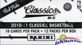 2010/11 Panini Classics NBA Basketball MASSIVE Jumbo FAT PACK Factory Sealed Box with 216 Cards! Look for Rookies & Autos of Paul George, John Wall, Jeremy Lin & all the Top 2010 Draft Picks! WOWZZER!