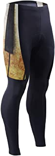 Old Piano Vintage Mens Cycling Pants 3D Padded Road Bike Leggings Cycle Trousers