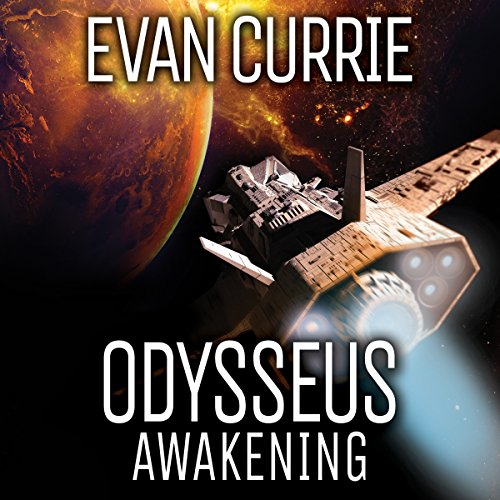 Odysseus Awakening audiobook cover art