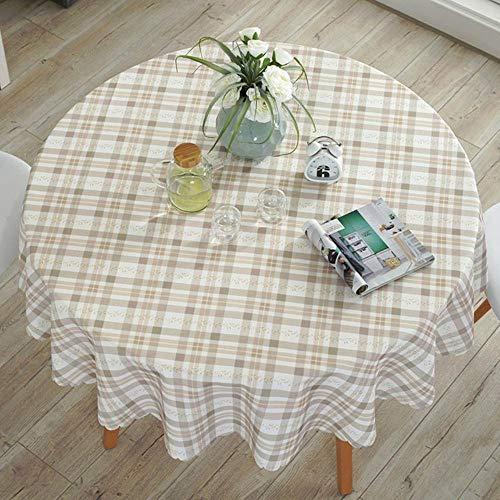 EDCV Home tafelkleed Tafelkleed Katoen Linnen Dineren Versierde Mediterrane Stijl Kan het tafelkleed wassen Olie- en waterdicht Home tafelkleed, 14