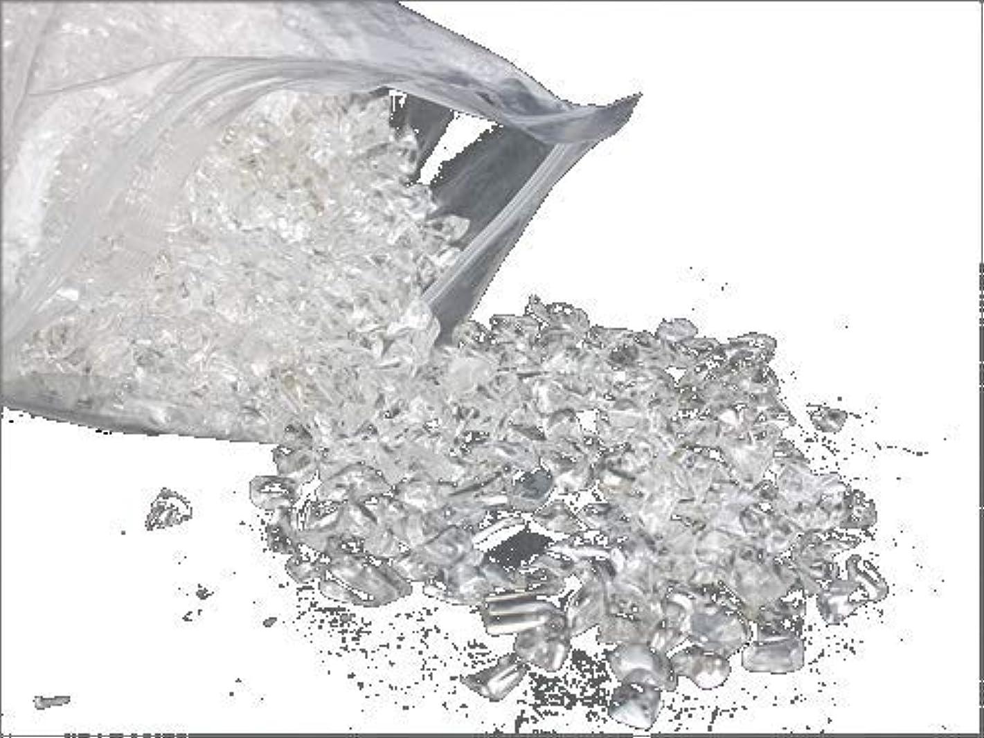 スカーフ後世南東水晶さざれ 中粒サイズ M500g 高透明 現地グレード最上級 天然 クリスタル チップ 天然水晶