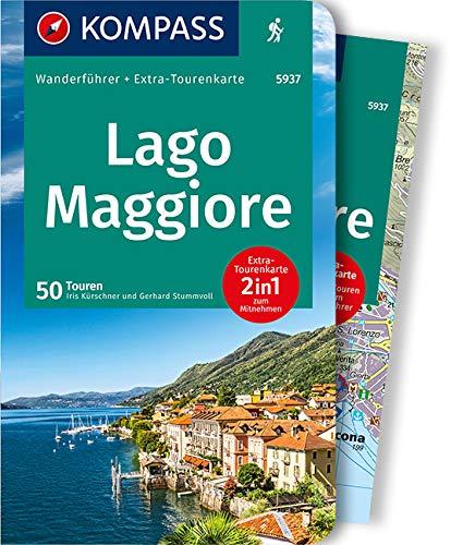 KOMPASS Wanderführer Lago Maggiore: Wanderführer mit Extra-Tourenkarte 1:60.000, 50 Touren, GPX-Daten zum Download.