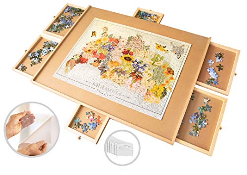1500 Piece Wooden Jigsaw Puzzle Table
