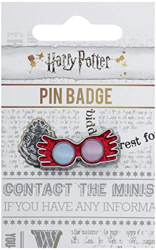 Harry Potter Luna Lovegood Unisex Pin rosa Metall Fan-Merch, Film