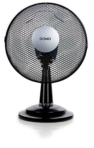 Domo Tischventilator DO8139 Ventilator, schwarz
