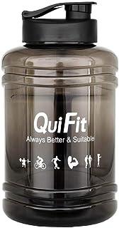 Fitness,Gym Rich-home 2.5L Auslaufsicher PETG Material Wasserflaschen Sport Mit Flip-D/üse und auslaufsicherer Kappe Tragbarer mit Griff f/ür Sport Wasser Fahrrad
