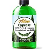 Artizen Cypress Essential Oil (100% Pure & Natural - UNDILUTED) Therapeutic Grade - Huge 1oz Bottle...