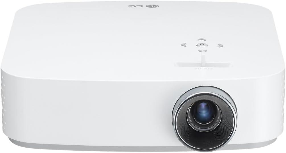 LG - Projector LG PF50KS FHD RGB LED Miracast Bluetooth White