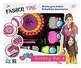Beluga Spielwaren GmbH 80322 Fashion Time Knitting Fun 80322-Fashion, bunt -