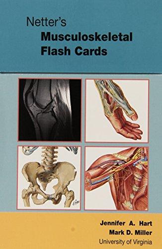 Netter's Musculoskeletal Flash Cards, 1e (Netter Basic Science)