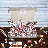 Kinder Box Snack Ferrero Confezione 65PZ Scatola Regalo mini assortiti Selezione Bueno Cer...