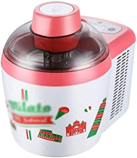 RFSTGYU Automatic Homemade Ice Cream Maker,Homemade Ice Cream Machine Fruit Cone Machine, Multifunctional Small Ice Cream Machine Can Be Used To Make Jelly, Milkshake, Smoothie (Color : B)