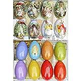 STOBOK Caja de metal con forma de huevo de Pascua, caja de dulces de metal, caja...