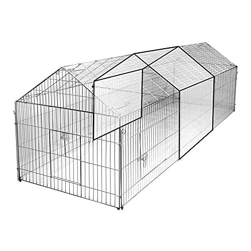 Kerbl 70358 Erweiterungsset zu Freilauf- gehege 70345, 110 x 103 x 103 cm - 2