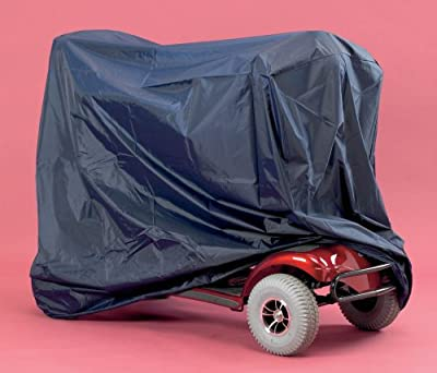 Homecraft Standard Scooter Cover, Medium/Large, Rip-Stop Nylon, Elasticated Base, Scooter Storage Cover, Protects Against Weather & Dust, Waterproof, Dry Seat (Eligible for VAT Relief in the UK)