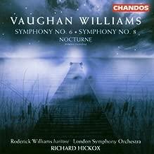 Vaughan Williams: Symphony No. 6; Symphony No. 8; Nocturne