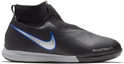 Nike AO3290, Chaussures de Fitness Mixte Enfant - - noir Metallic argent-Racer BL, 2Y