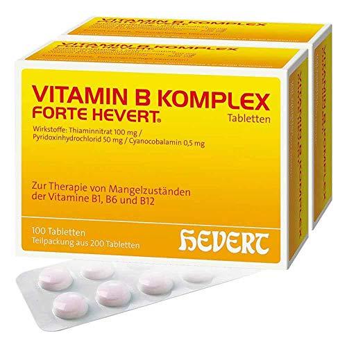 Vitamin B Komplex forte Hevert, 200 St