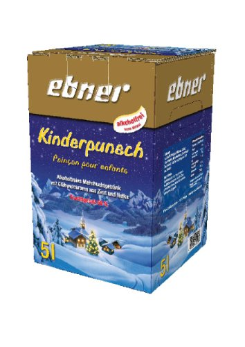 Kinderpunsch Bag-in-Box 5 Liter alkoholfrei