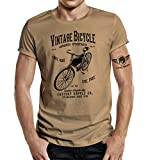 T-Shirt für Fahrrad Fans: Vintage Bicycle XL